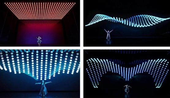 LED Kinetic Light System
